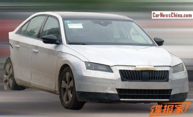 48 The Spy Shots Skoda Superb Price Design And Review