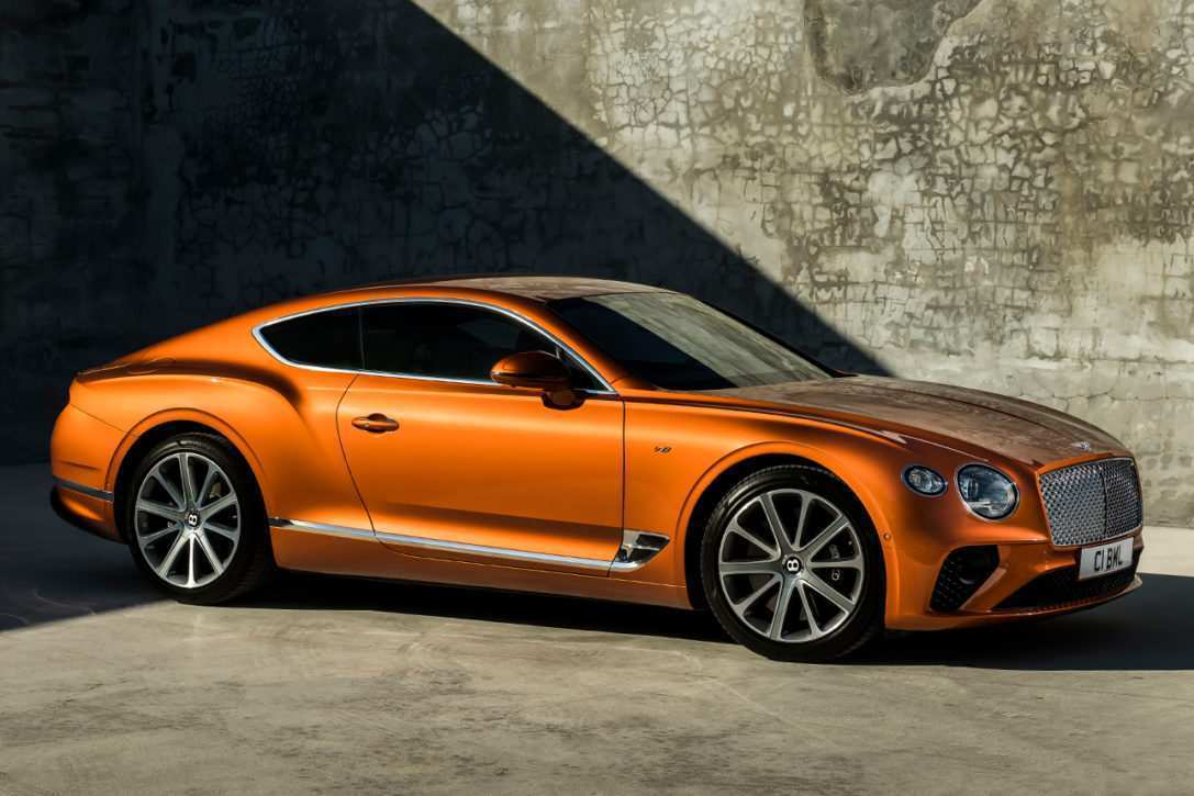 49 A 2020 Bentley Continental GT Redesign