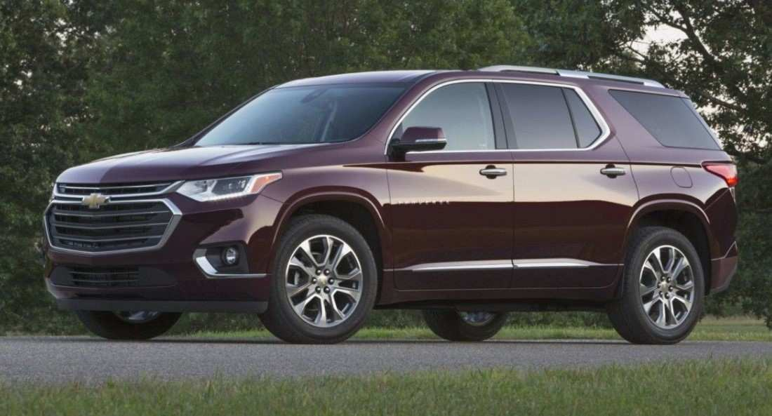49 A 2020 Chevrolet Traverses Exterior And Interior