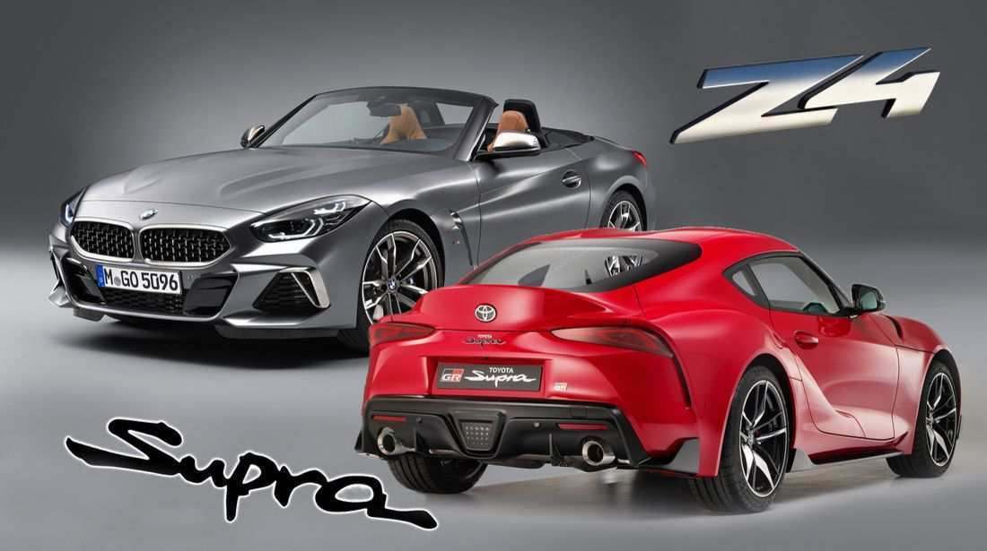 49 A 2020 Toyota Supra Vs BMW Z4 Pictures