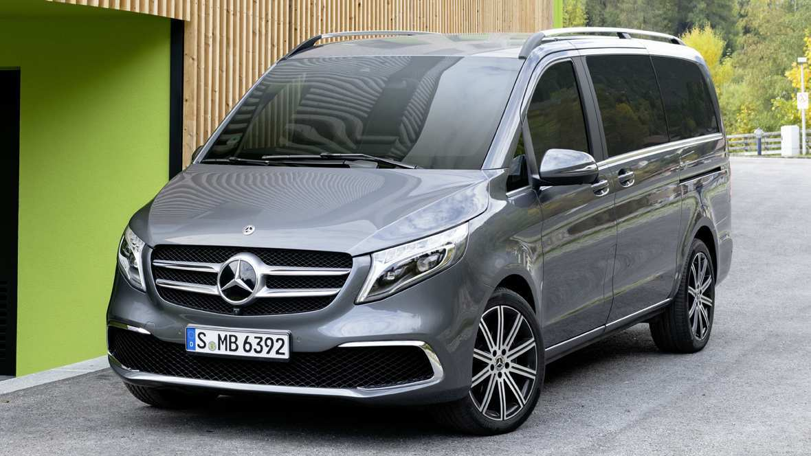 49 A Mercedes V Klasse 2019 Spy Shoot