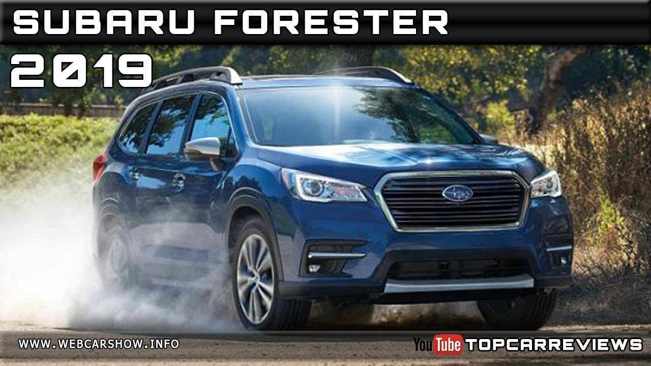 49 A Next Generation Subaru Forester 2019 Interior