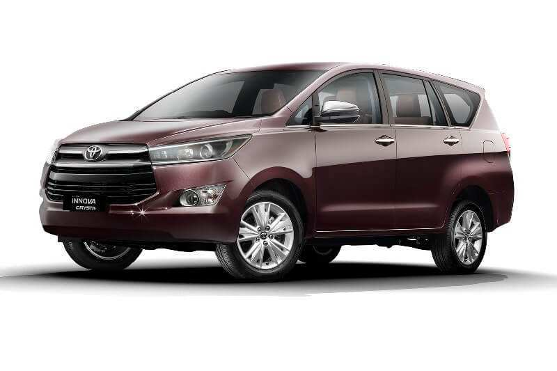 49 A Toyota Innova Crysta 2020 Spy Shoot