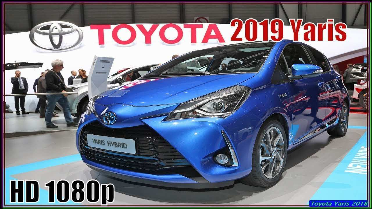 49 A Toyota Yaris 2019 Europe Redesign And Concept
