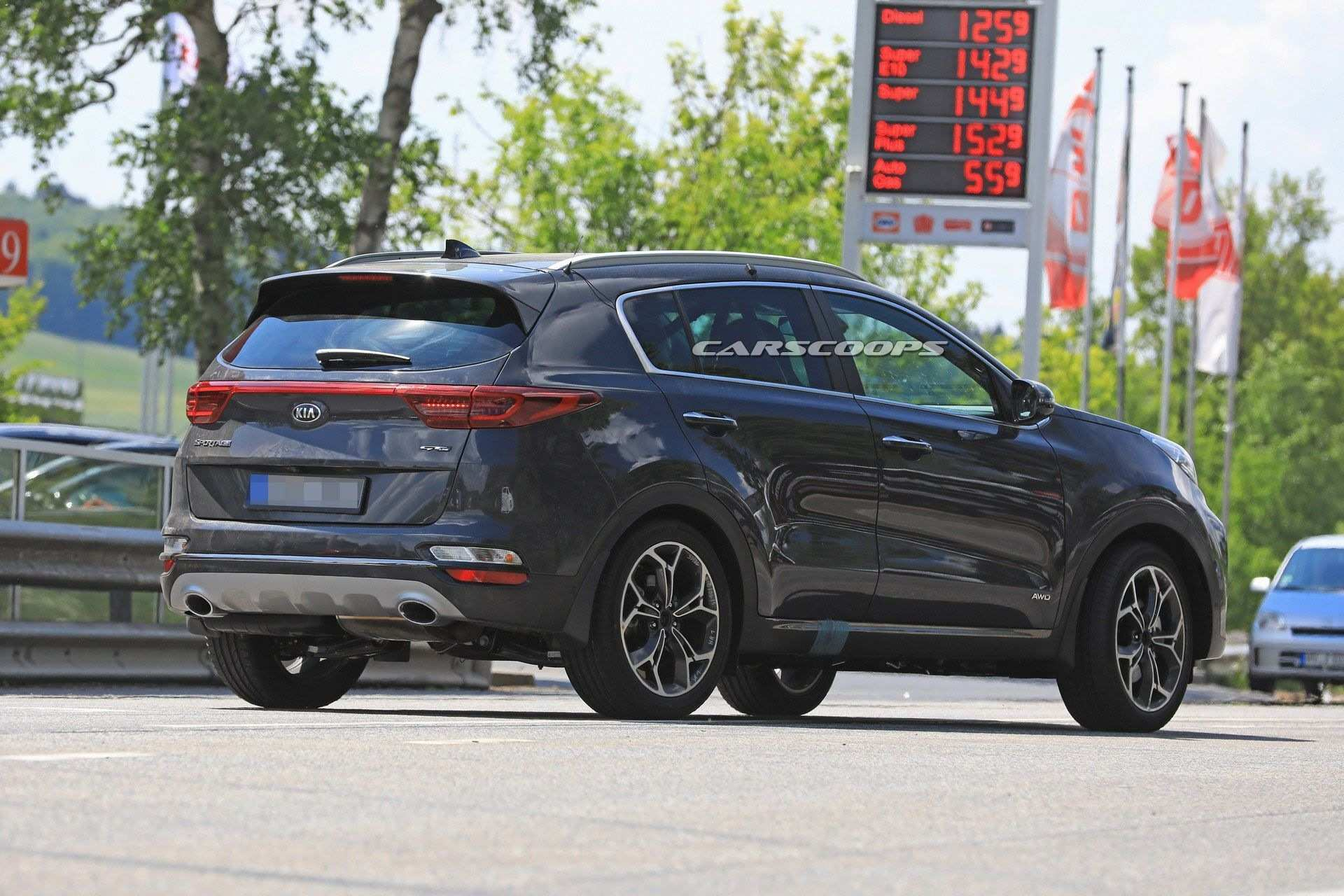 49 All New 2019 KIA SportageSpy Shots Images