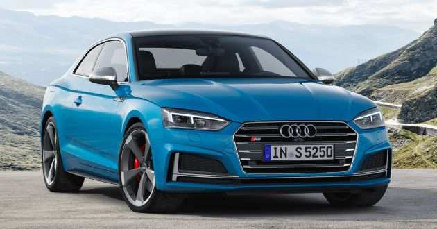49 All New 2020 Audi S5 Spy Shoot