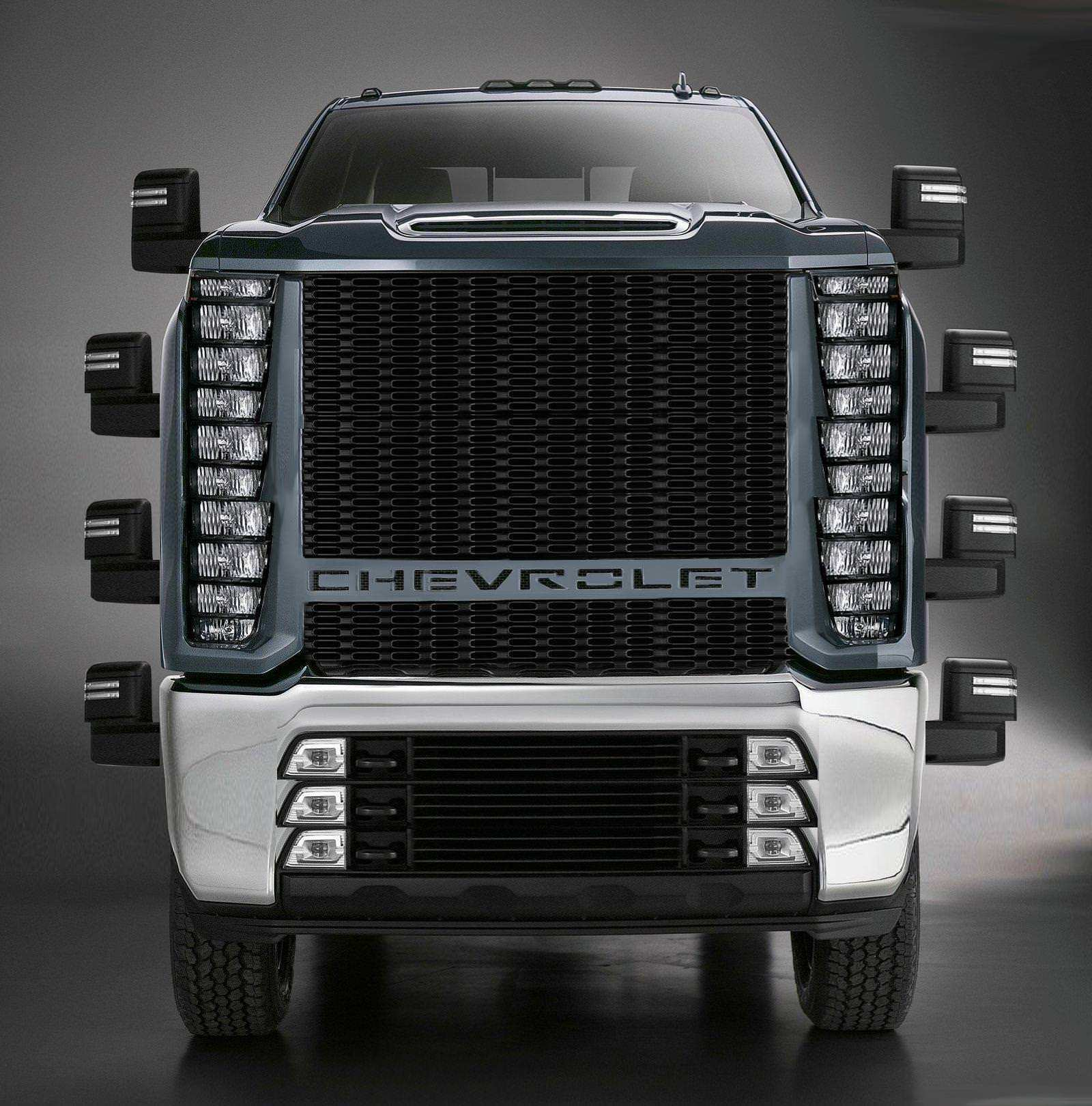49 All New 2020 Chevrolet Grill Wallpaper