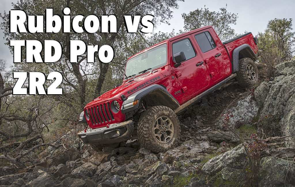 49 Best 2020 Jeep Gladiator Vs Toyota Tacoma Speed Test