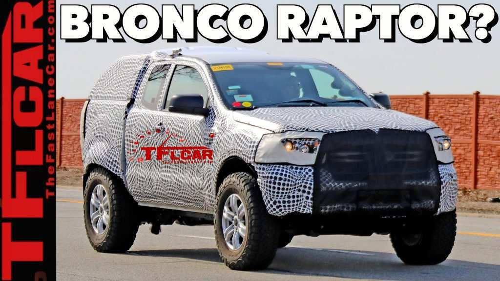 49 The 2019 Ford Bronco Model