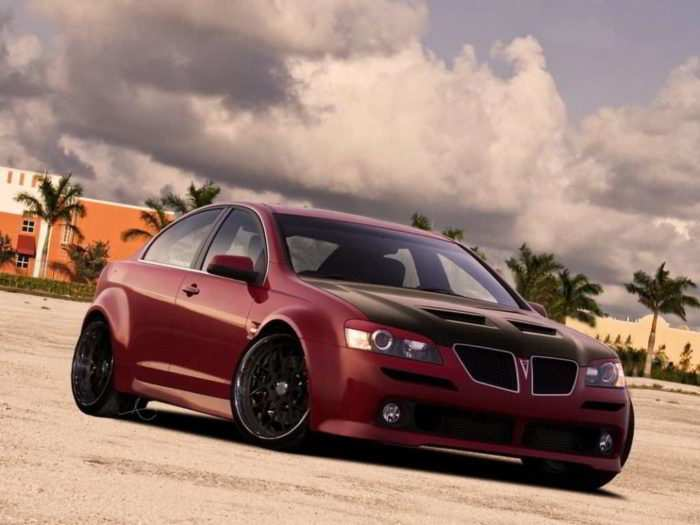 49 The 2019 Pontiac G8 Gt Review And Release Date