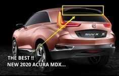 49 The 2020 Acura Mdx Rumors Price Design And Review