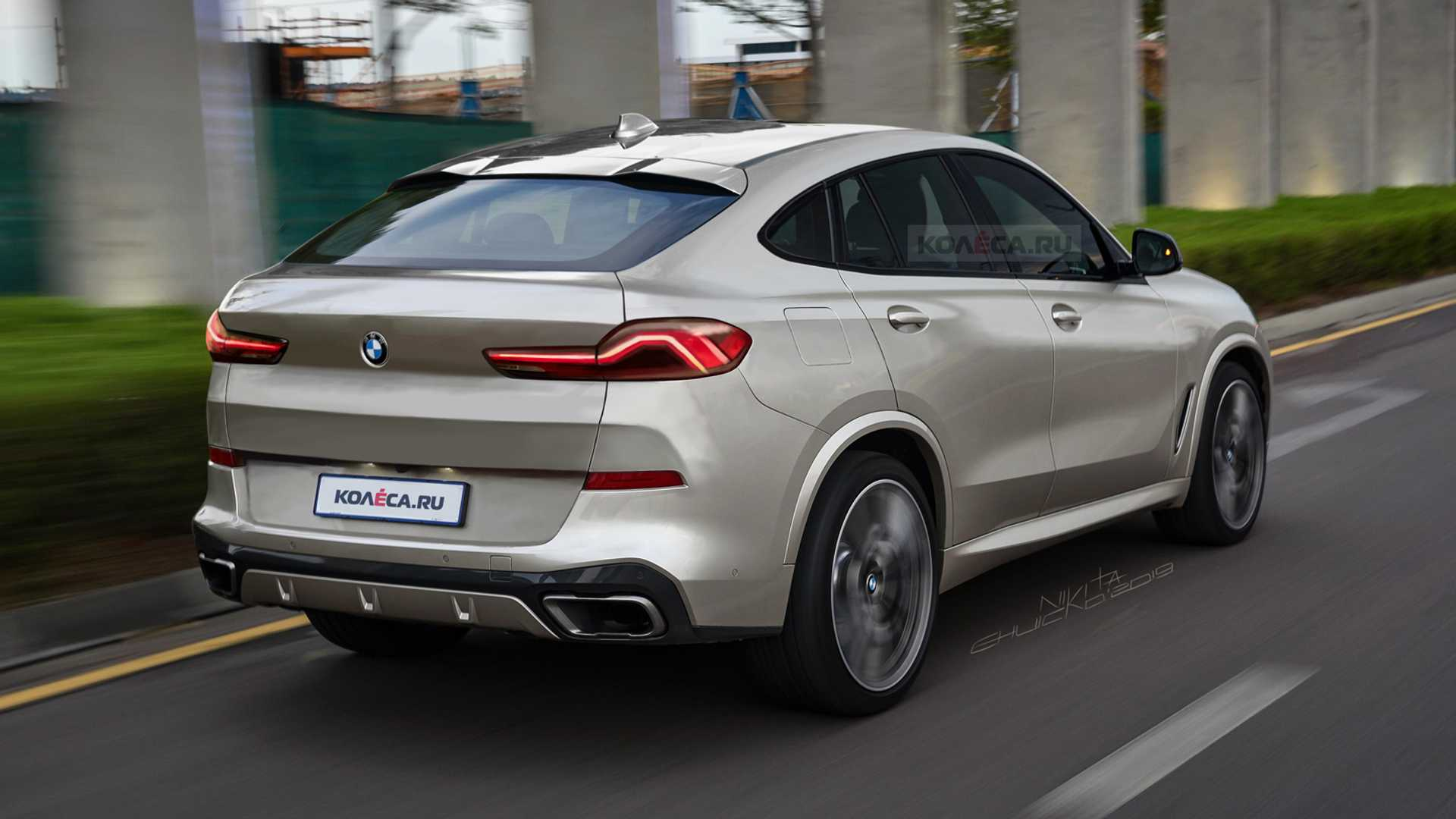 49 The BMW X62020 Concept