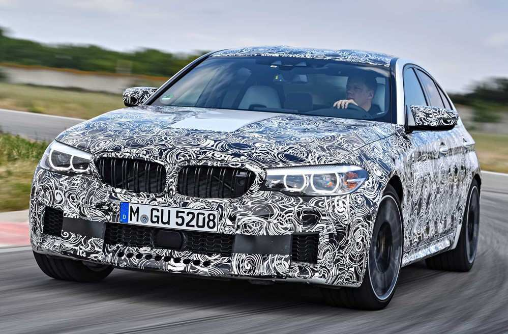 49 The Best 2020 BMW M5 Xdrive Awd New Review