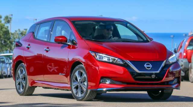 50 A 2019 Nissan Leaf Range Release Date And Concept