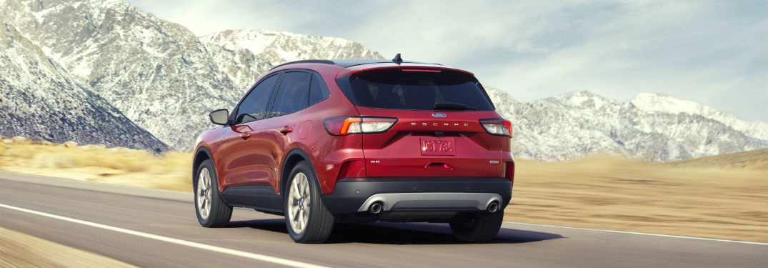 50 A 2020 Ford Escape Release Date