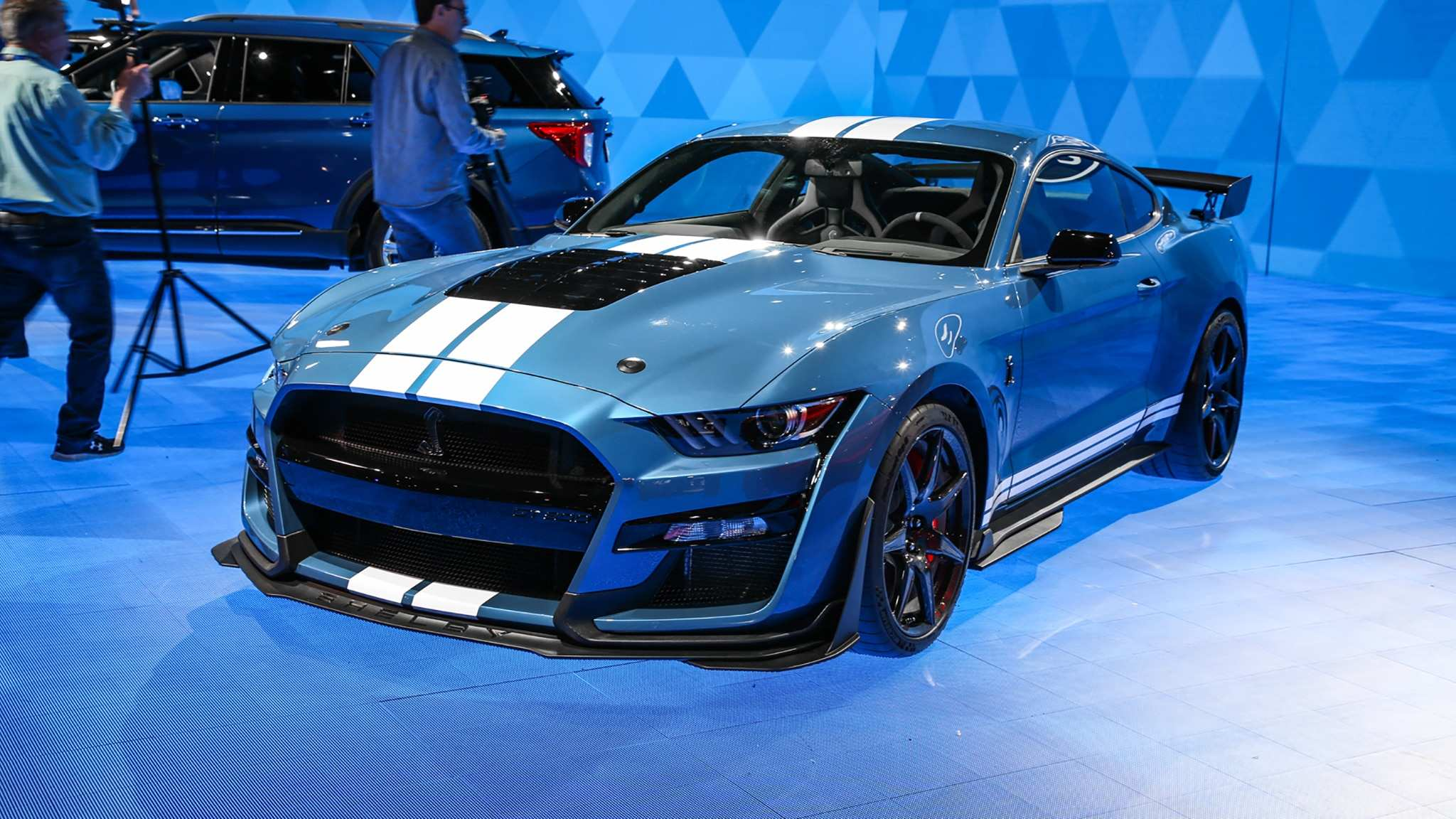 50 A 2020 Ford Mustang Shelby Gt500 Wallpaper