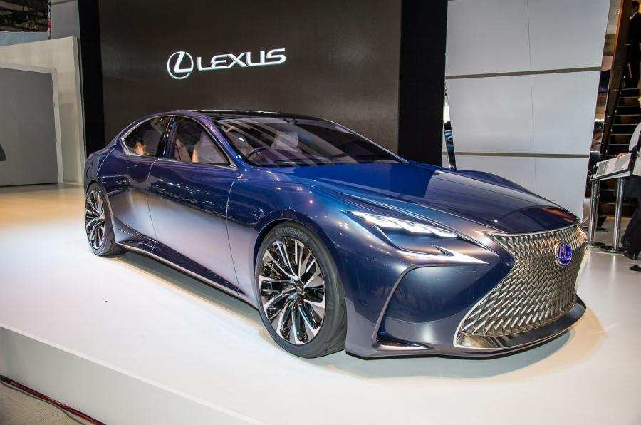 50 A 2020 Lexus LF LC Pictures