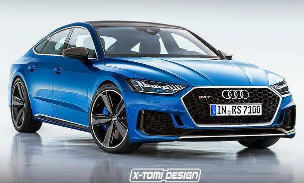 50 All New 2019 Audi Rs7 Redesign And Review