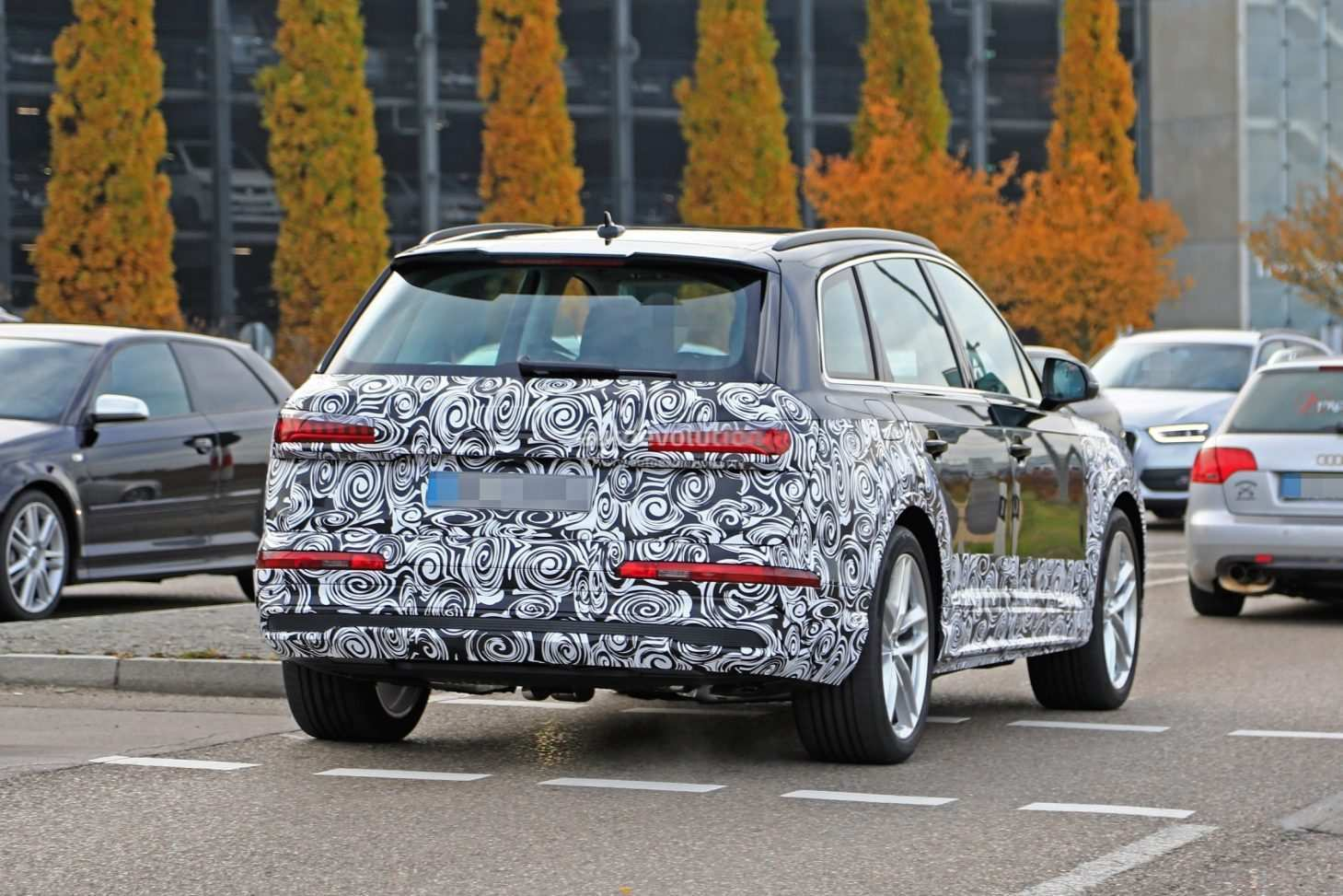 50 All New 2020 Audi Q7 Wallpaper