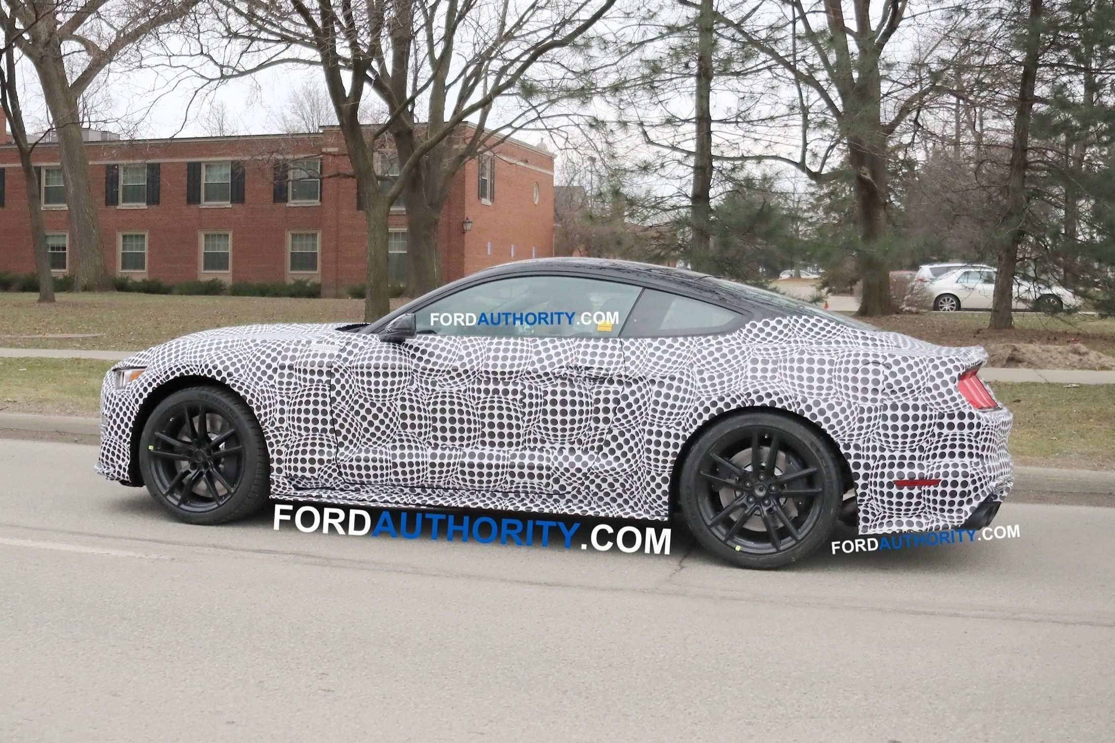 50 All New 2020 The Spy Shots Ford Mustang Svt Gt 500 Model