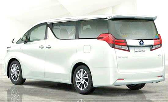 50 All New 2020 Toyota Alphard Images