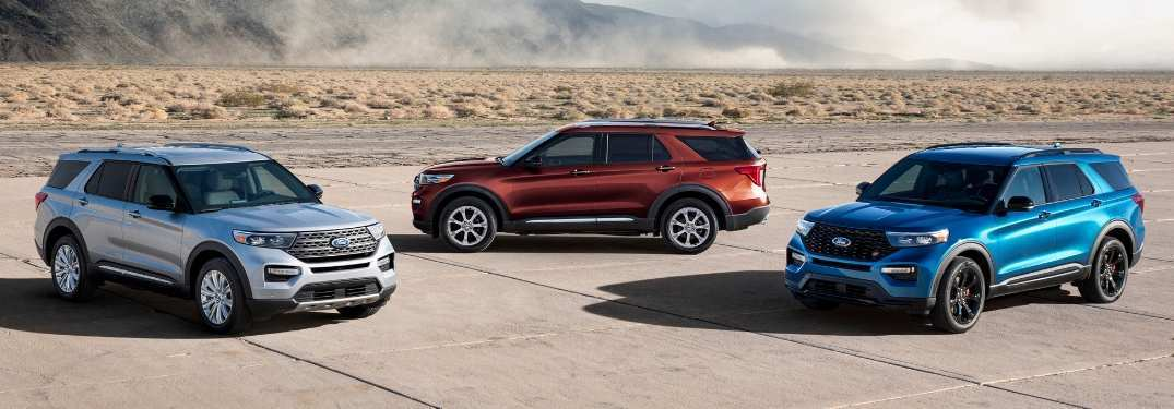 50 All New Ford Explorer 2020 Release Date Redesign