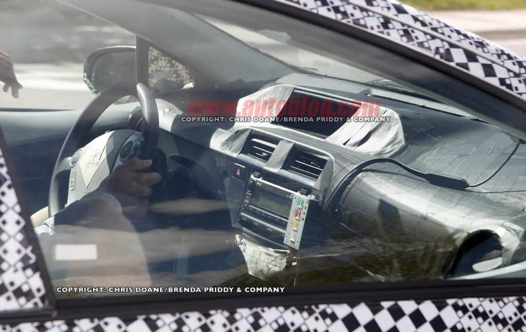 50 All New Spy Shots Toyota Prius Price Design And Review