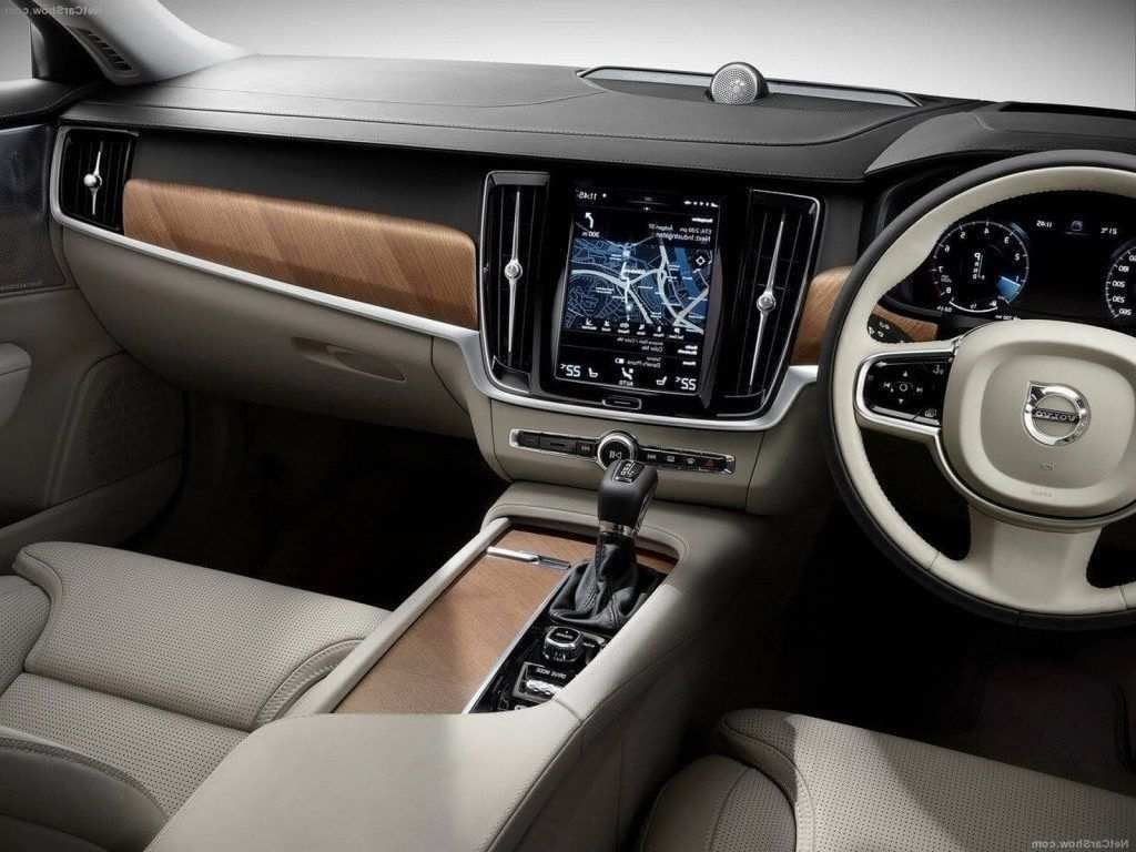50 All New Volvo Xc90 2019 Interior Review And Release Date