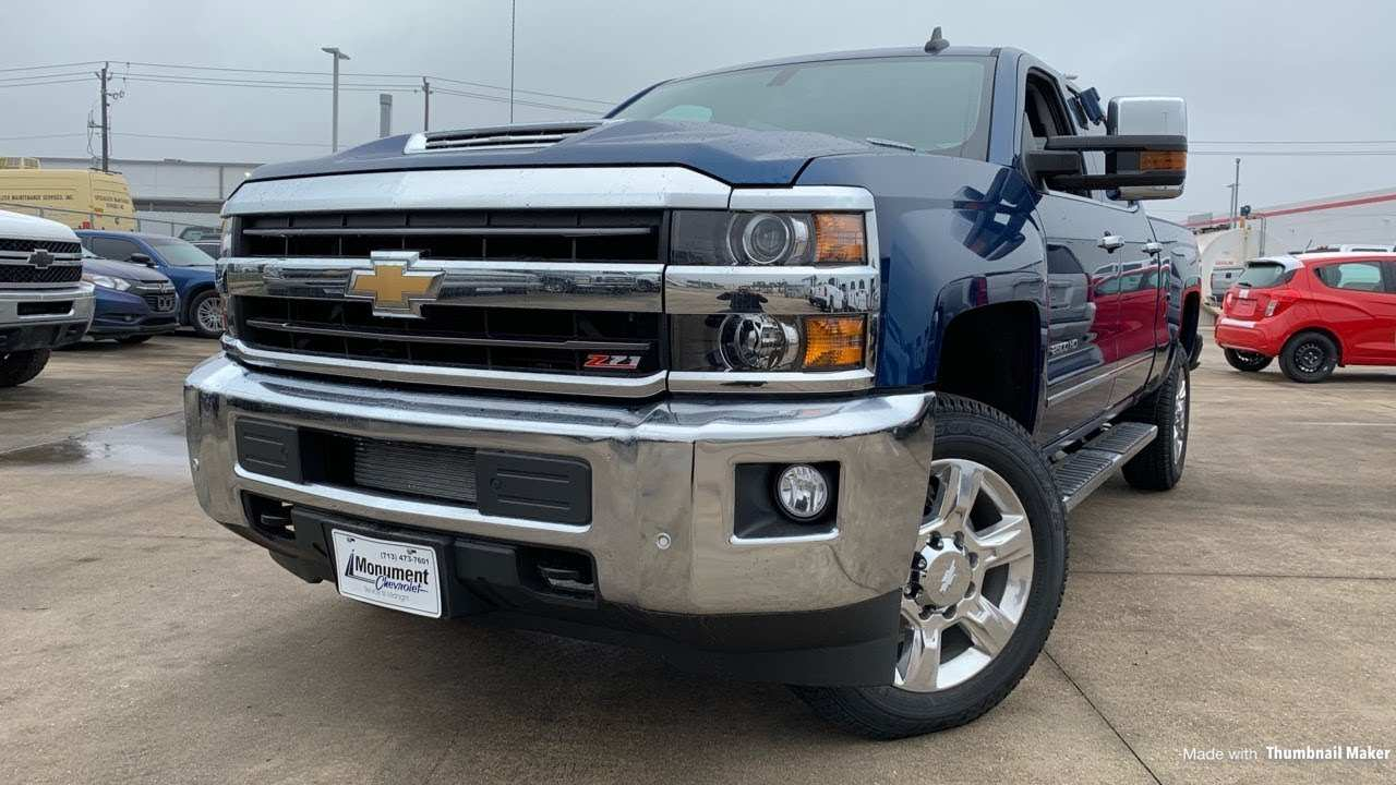50 Best 2019 Chevy 2500Hd Duramax Redesign And Concept