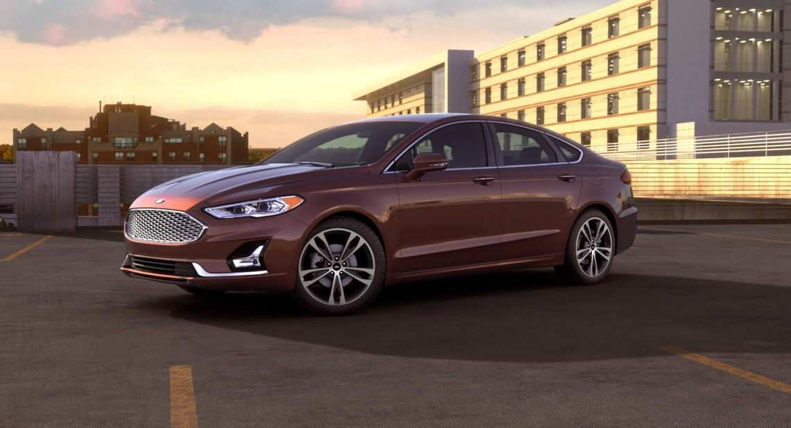50 The 2019 Ford Fusion Overview