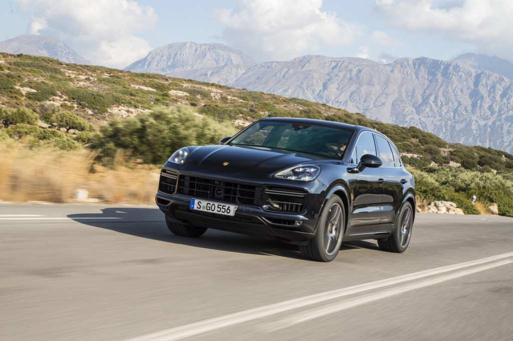50 The 2019 Porsche Cayenne Turbo S New Concept