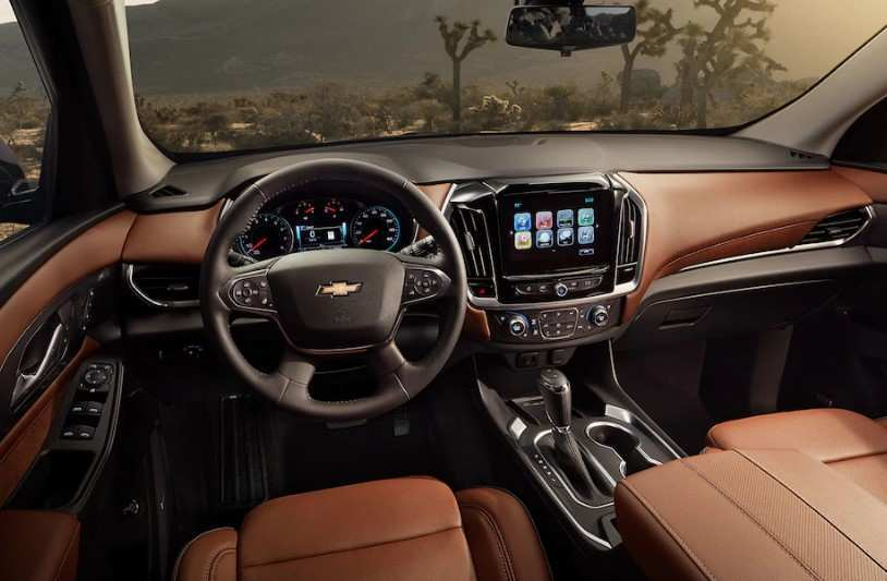 50 The 2020 Chevy Traverse Spesification
