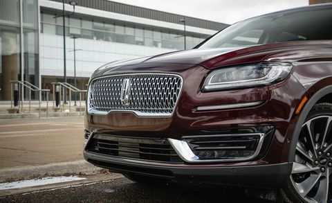 51 A 2019 Lincoln MKX Configurations