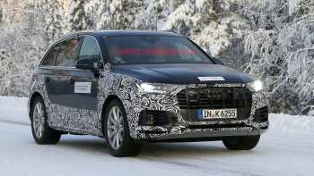 51 A 2020 Audi Q7 Spy Shoot