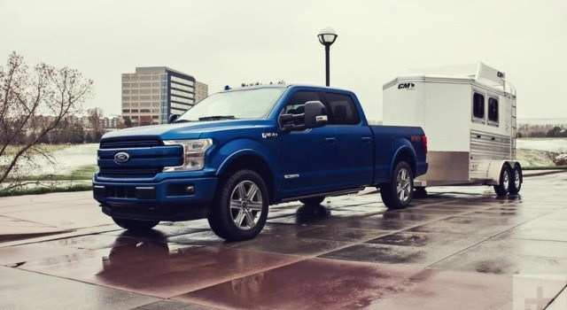 51 A 2020 Ford F150 Speed Test
