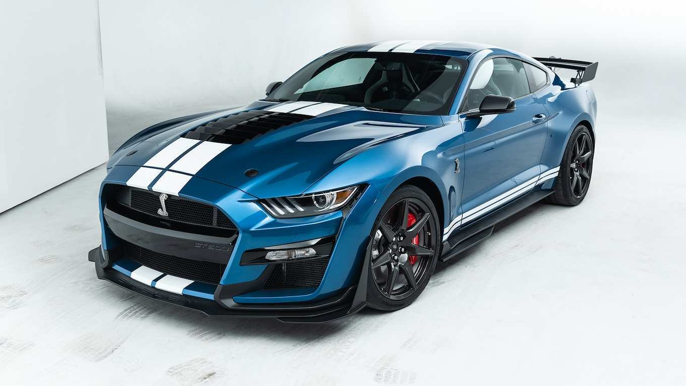 51 A 2020 Ford Mustang Shelby Gt 350 Concept
