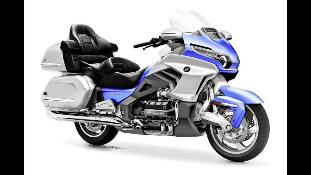 51 A 2020 Honda Gold Wing Interior
