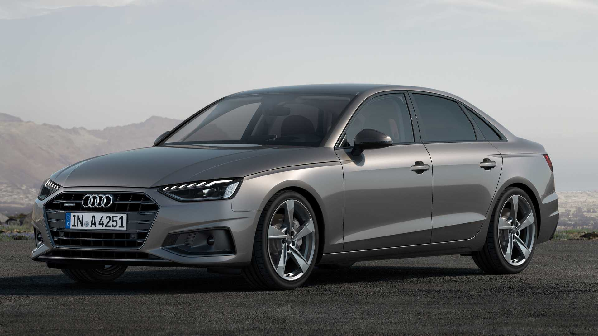 51 A Audi A4 Model Year 2020 First Drive