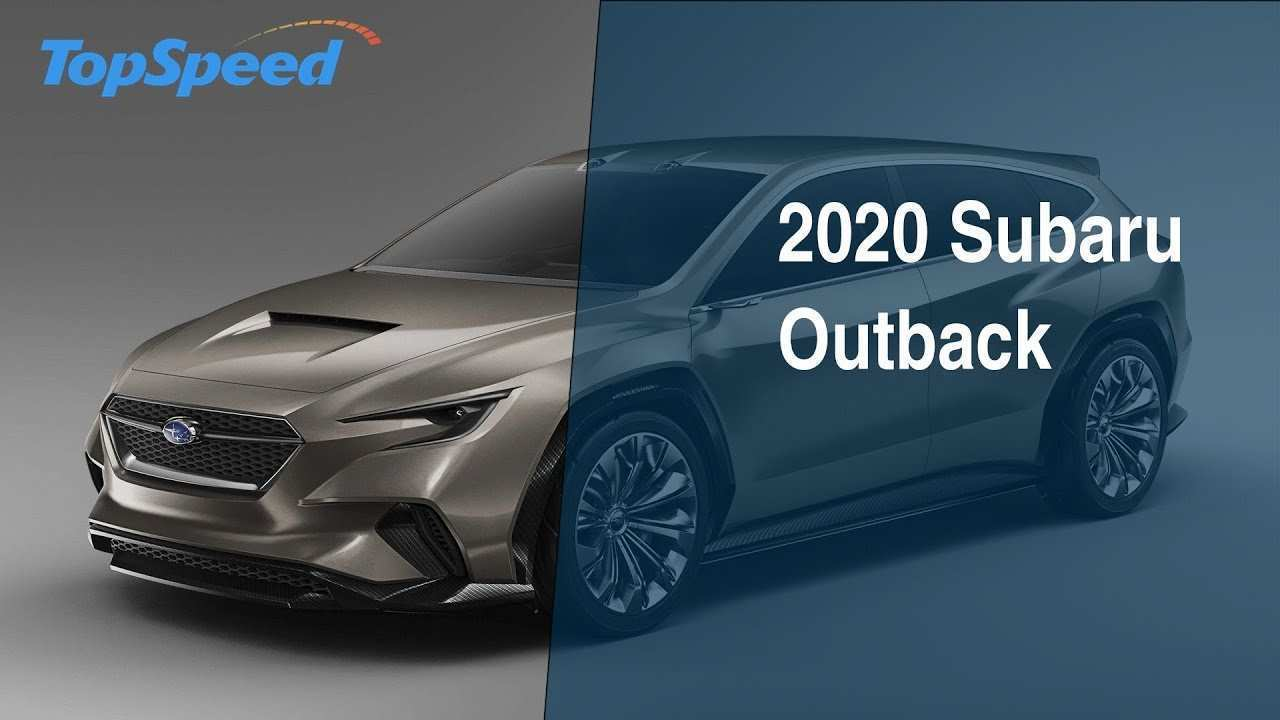 51 A Next Generation Subaru Outback 2020 Release Date And Concept