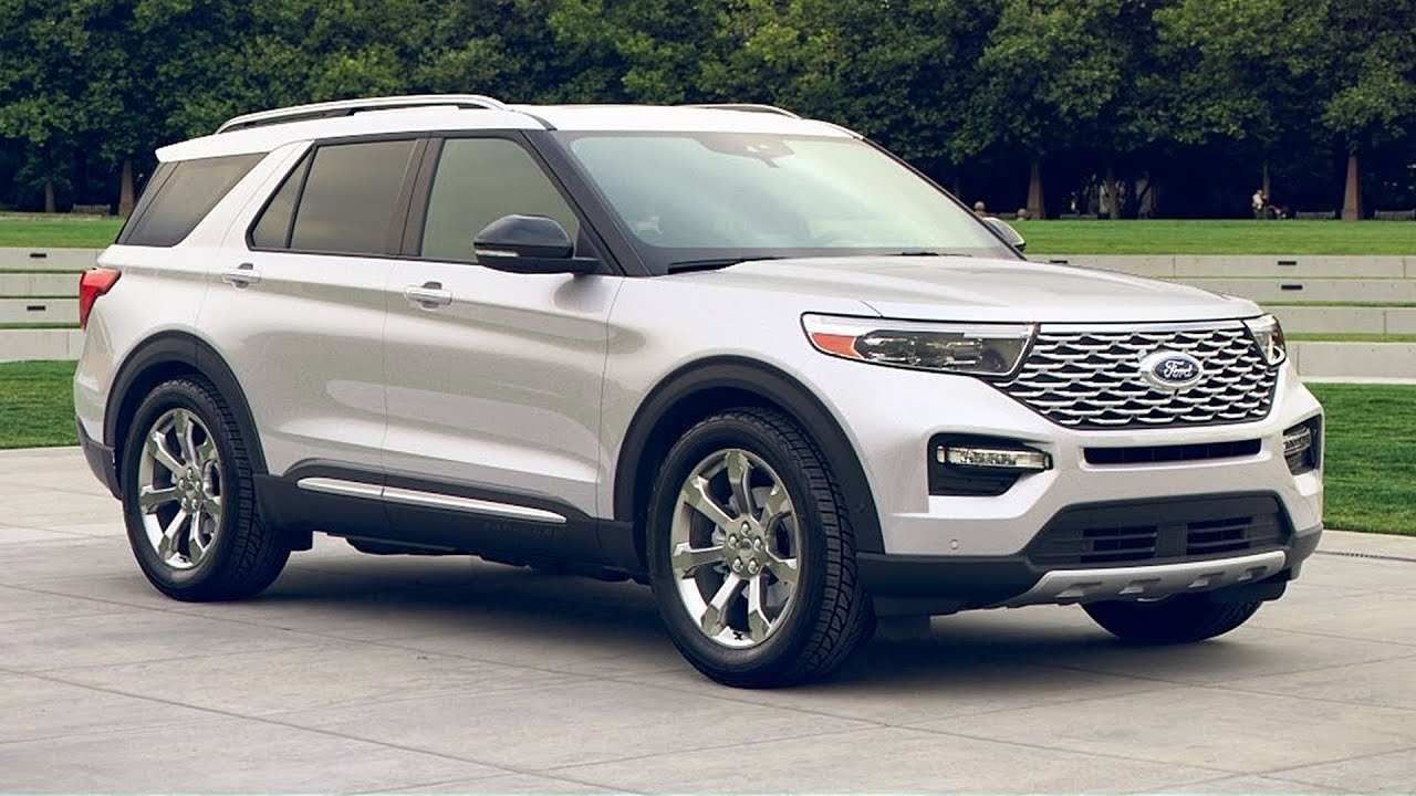 51 All New 2020 The Ford Explorer New Model And Performance