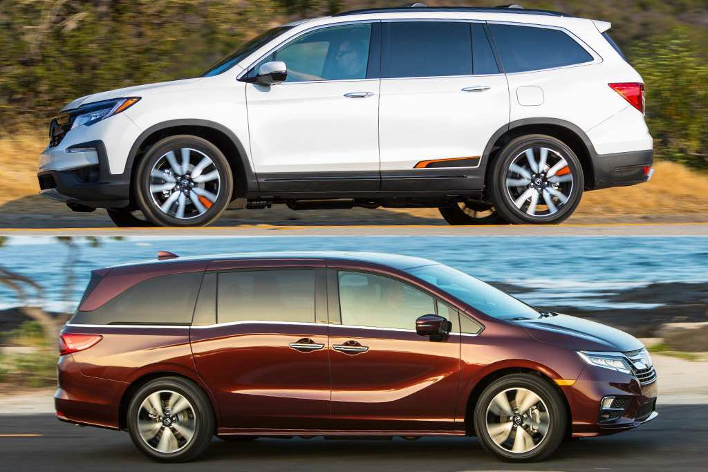 51 All New Honda Odyssey 2019 Vs 2020 Exterior