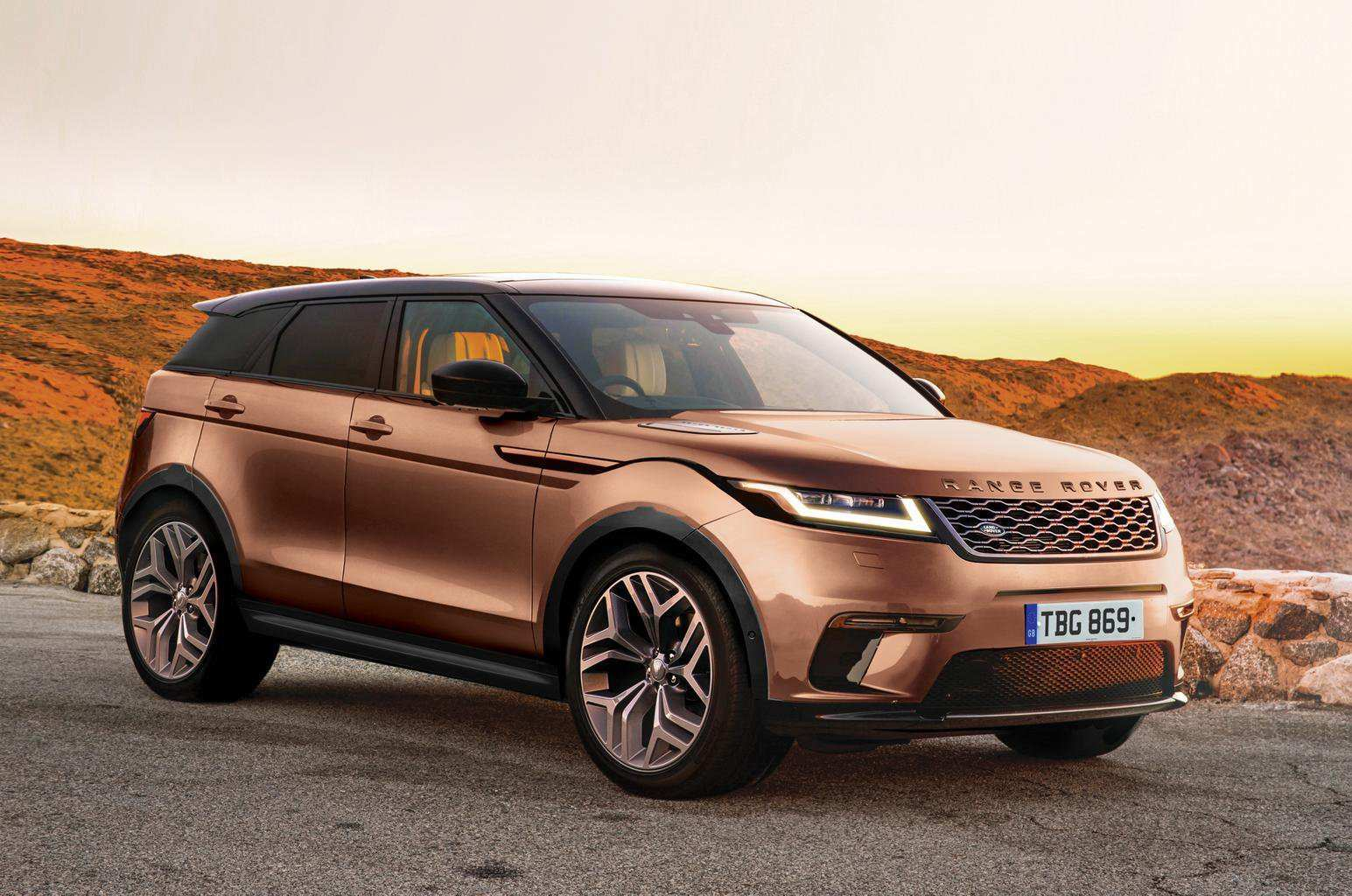 51 Best 2019 Range Rover Evoque Redesign And Concept