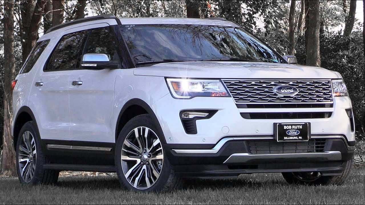 51 Best 2019 The Ford Explorer Model