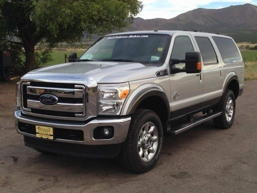51 New 2019 Ford Excursion Diesel Redesign And Concept