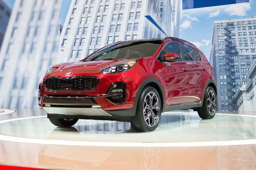 51 New 2020 Kia Sportage Release Date Performance And New Engine