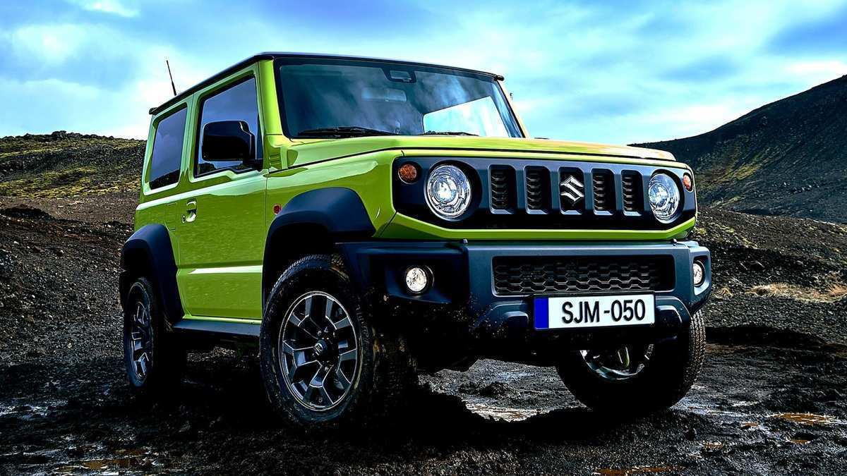 51 The 2019 Suzuki Jimny Speed Test