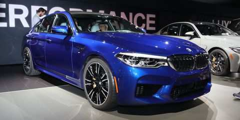 51 The 2020 BMW M5 Xdrive Awd Exterior
