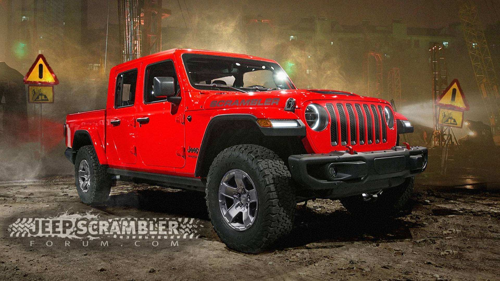 51 The Jeep Wrangler Pickup 2020 Exterior