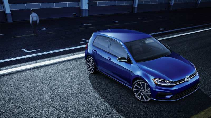 52 A 2019 VW Golf R USA First Drive