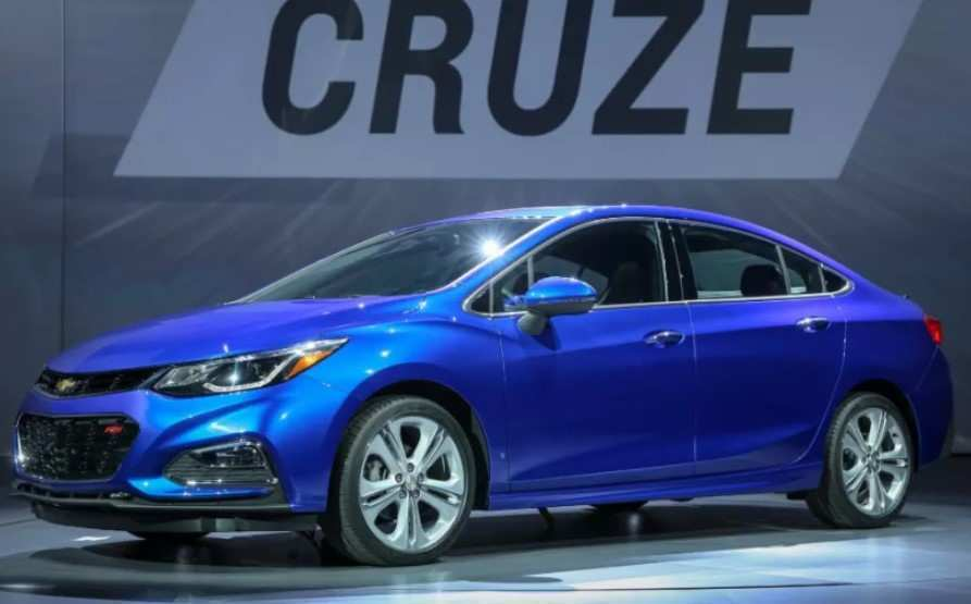 52 A 2020 Chevy Cruze Exterior and Interior